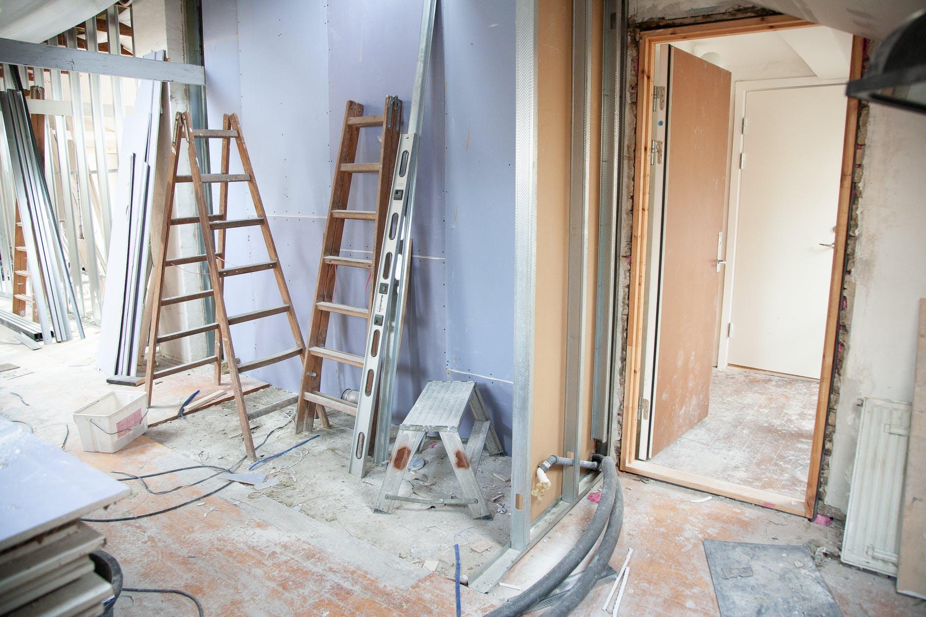 Rénovation dépose