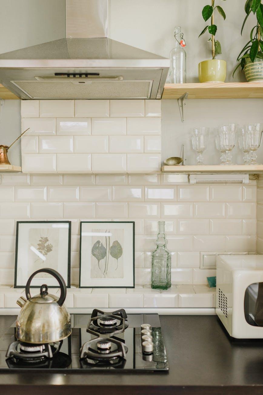 Plaques de cuisson et hotte cuisine
