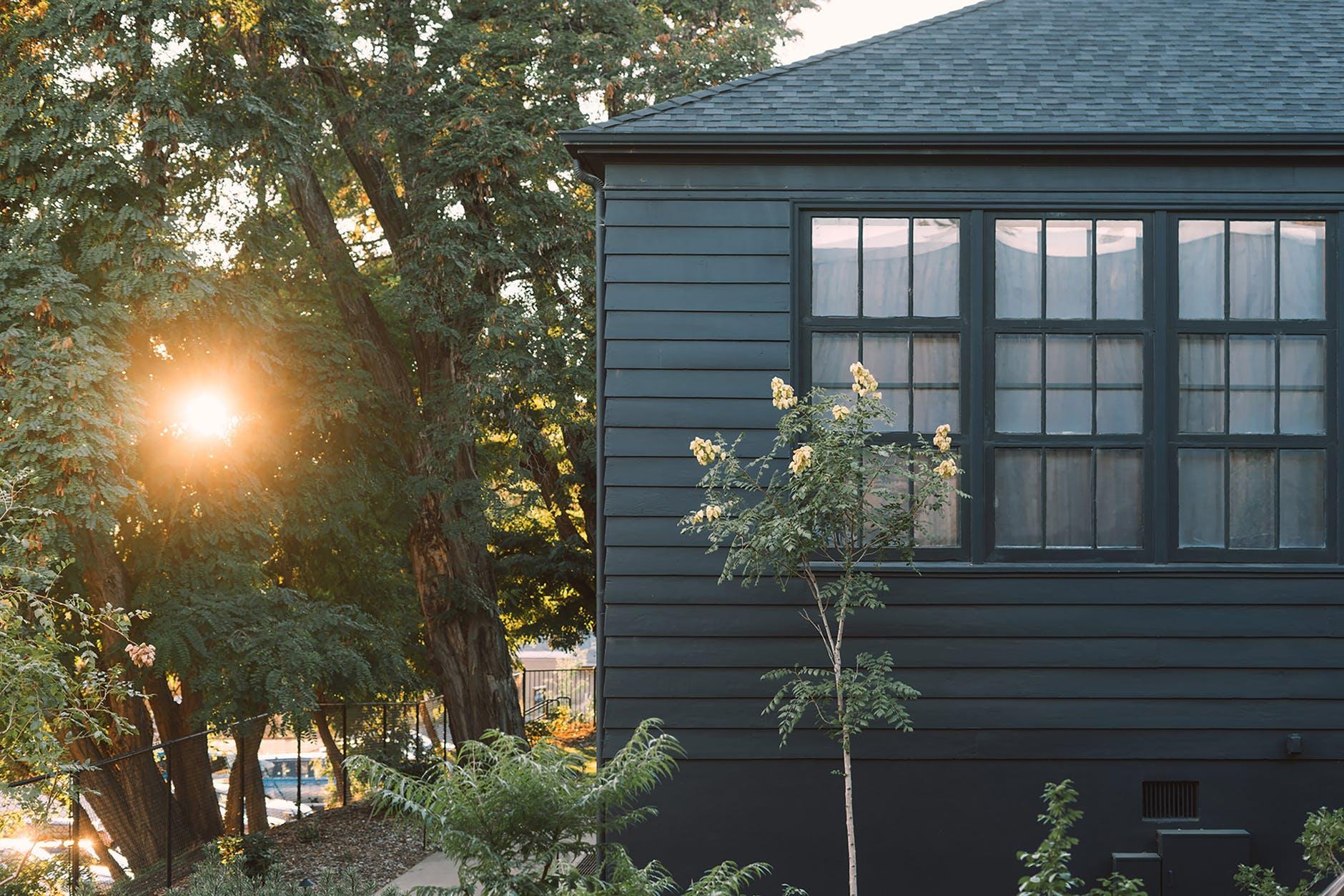 Ensoleillement maison écologique