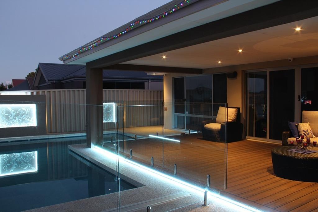 Eclairage terrasse piscine