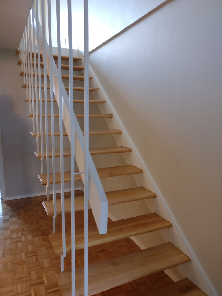 Rampe escalier senior